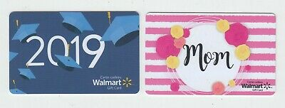 2 diff Walmart Canada 2019 gift card MOM NO VALUE