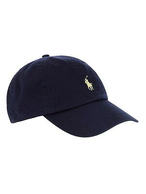 Ralph Lauren Baseball Cap In Navy With Small Yellow Pony - Adults - One Size