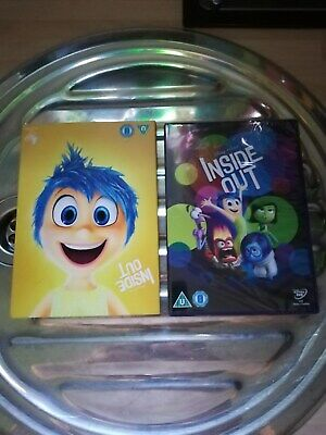 Bnitw Childrens Walt Disney/Pixar Inside Out Dvd 99P Bargain