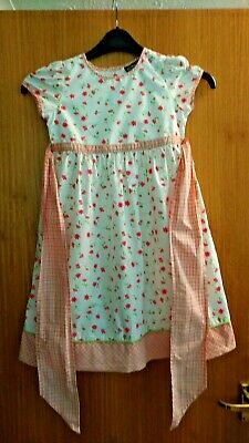 """Pretty """"New Look"""" Tiered Skirt And """"Next"""" Tee Shirt To Fit Girl Age 5-6 Years"""