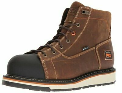 """New Mens Timberland PRO Alloy Safety Steel Toe Gridworks 6"""" Work Shoes Boots"""