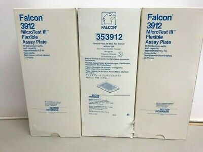 Falcon 3912 and 3913 MicroTest III Flexible Assay Plate and lids
