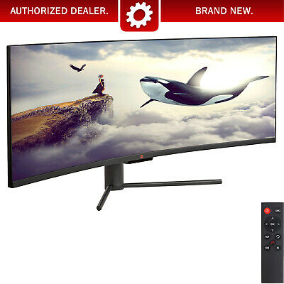"43"" Curved Ultrawide E-LED Gaming Monitor 3840x1200 120Hz 32:10 3000:1(LG-43-HP)"