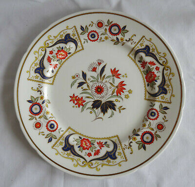PARAGON CHELSEA   English Dinner Plate cobalt blue and gold