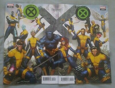House of X #4 + Powers of X #4 Molina Connecting Variants Marvel BEST OFFER!