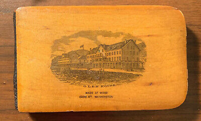 Girl's 1880 Mauchline Ware Autograph Book, Signed by Noted Scientists/Botanists