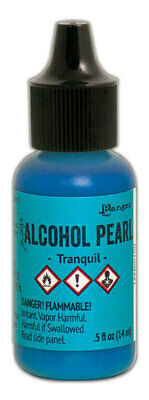 Ranger Tim Holtz Tranquil Alcohol Ink Pearls 14ml