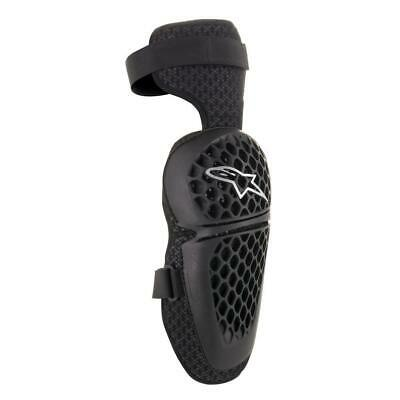 Alpinestars Bionic Plus Mens Body Armour Knee Pads - Black All Sizes