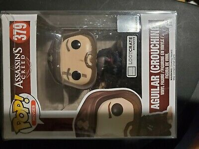 Assassins Creed Aguilar Crouching Funko POP 379 Loot Crate Exclusive Figure 2016