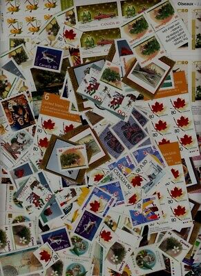 Canada mint discount postage, 0.40-0.99 FV CAD800