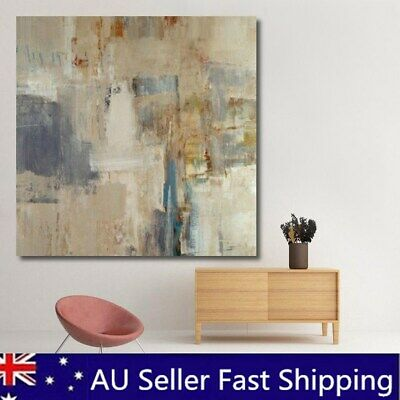 Modern Abstract Oil Painting Canvas Wall Art Printed Pictures Home Decor 24X24''