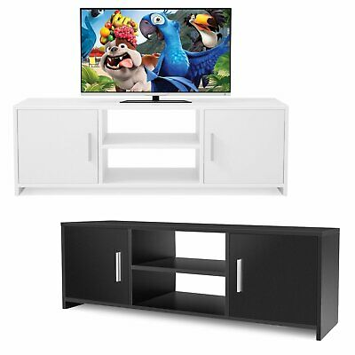 TV Unit Stand Cabinet Sideboard TV Bench Storage Shelf Furniture with 2 Doors