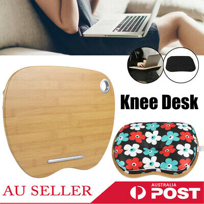 Laptop Lap Computer Table Portable Knee Desk Office Home Comfort Pillow Stand AU