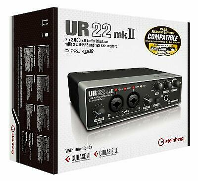 Steinberg UR22 MKII USB Audio Interface with iPad Support
