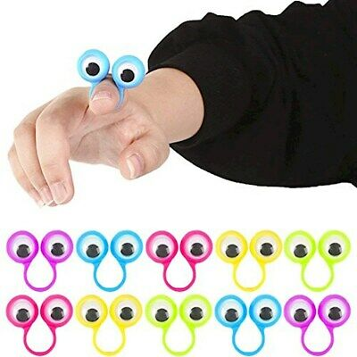 100 OOBI GOOGLY GOOGILY NOGGIN FINGER PUPPETS PARTY FAVORS CARNIVAL GOODY BAGS