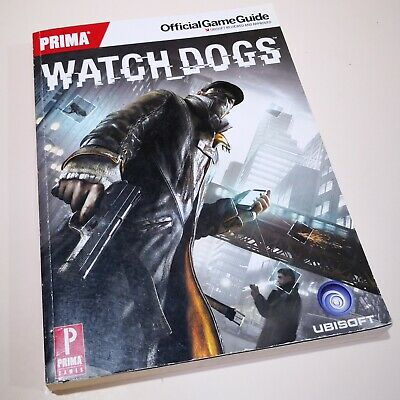 WATCH DOGS Official Game Guide Video Game Strategy Book 2014 Prima Games Ubisoft