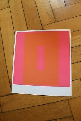 Wirth 1966  contemporary Art Farbkomposition Graphik Pop Art