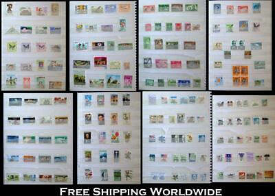 Stamp Collection From Africa British Colonies Ceylon & United States Free Post
