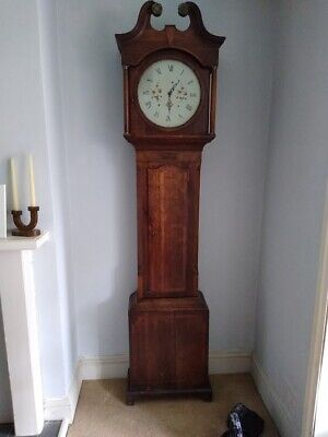 Nice Georgian grandfather clock