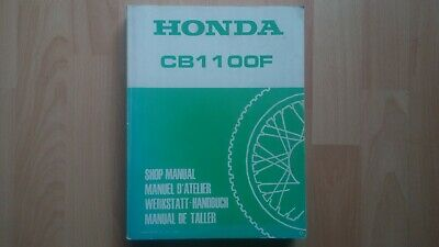 Honda CB1100F Original Workshop manual