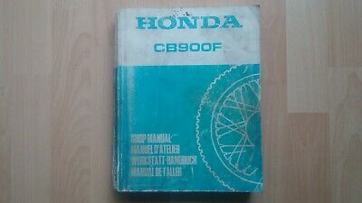 Honda CB900F Original Workshop manual