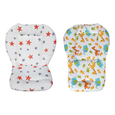 Universal Baby Stroller Seat Cotton Pad Liner High Chair Seat Cushion Liner Mat