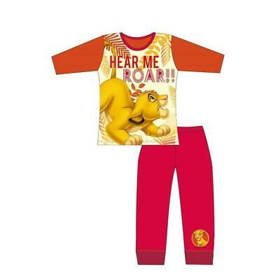 Girls Disney Lion King Long Sleeve Pyjamas pjs  Children  Age 4 to 10 Years