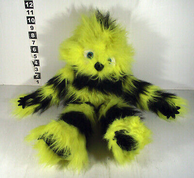 """Large 22"""" Puppet Company Yellow And Black Monster Hand Puppet Toy"""