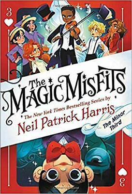 The Magic Misfits: The Minor Third by Neil Patrick Harris HARDCOVER 2019
