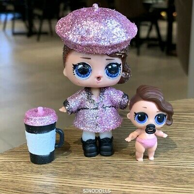 LOL Surprise Doll Bling Holiday Series POSH & Lil POSH Sister Glam Glitter Toys