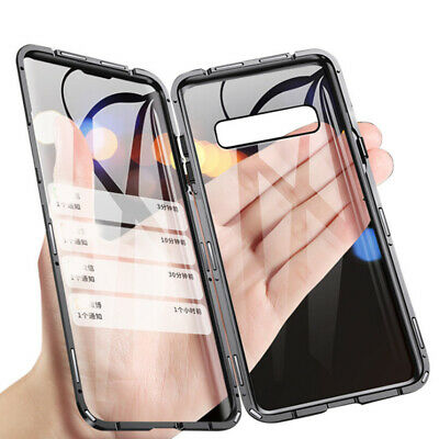 Magnetic Anti-Peep Anti-Spy Privacy Glass Phone Case Cover For Samsung Galaxy S9