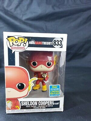 Sheldon Cooper Funko Pop The Big Bang Theory As Flash Boxes Have Little Damage