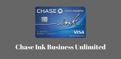 $600 Sign Up Bonus for Chase Ink Unlimited Business New Credit Card Referral