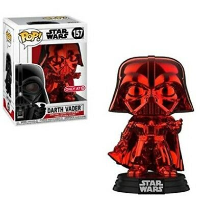 Funko Pop! Star Wars Darth Vader (Red Chrome) Exclusive #157