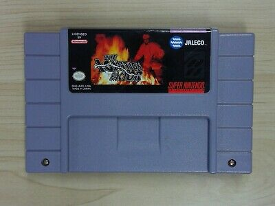 Ignition Factor (Super Nintendo Entertainment System, 1994) Game Only! Tested!