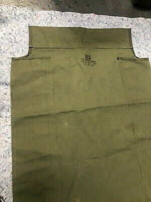 U.S. Army NOS Canvas for folding cot, never used on a cot.