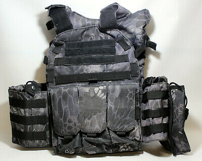 C.A.T.I Armor Viper Tactical Plate Carrier Vest With Plates - Level 3