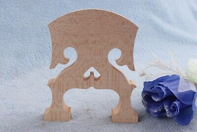 2pcs Cello Bridge Baroque Style 4/4 Full Size Cello Parts Flame maple