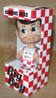 BIG BOY BOBBING BOBBLE HEAD Bob's Elias Shoneys Wacky Wobbler 1998 1st Funko MIB