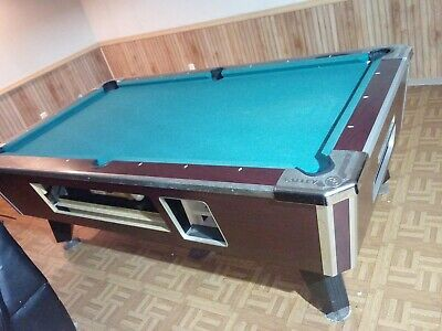 Valley 8FT.  coin op pool table  #PT226 no coin op