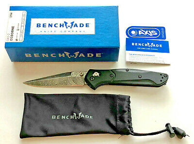Custom Benchmade 940-2 (G10 Scales) w/ Unique Replacement Blade Deep Carry Clip