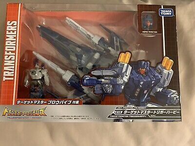 Takara TOMY Transformers Legends LG 49 Tirgetmaster Triggerhappy Action Figure