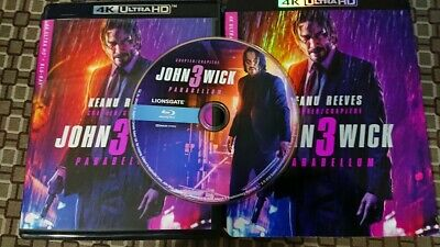 John Wick: Chapter 3 - Parabellum Blu-Ray Disc ONLY