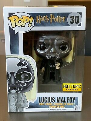 Funko Pop! Harry Potter ~ Lucius Malfoy (Death Eater Mask) ~ Hot Topic Excl #30