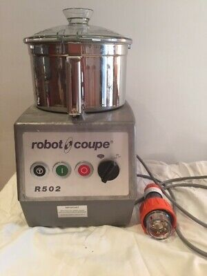 Robot Coupe R502 Commercial Food Processor with 5.5l stainless bowl