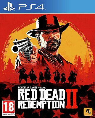 Red Dead Redemption 2 Sony Playstation PS4 Game