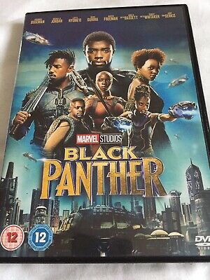 Black Panther 2018 DVD Award Winning Sci-Fi Film Disc UK