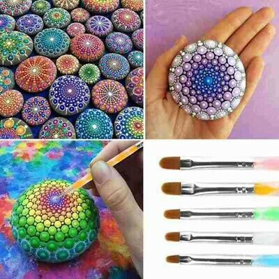 18PCS Mandala Dotting Tools Set Embossing Stylus Large Dotting Rods for Y7Q4