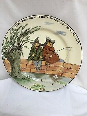 Royal Doulton Series Ware Plate The Gallant Fishers D3680