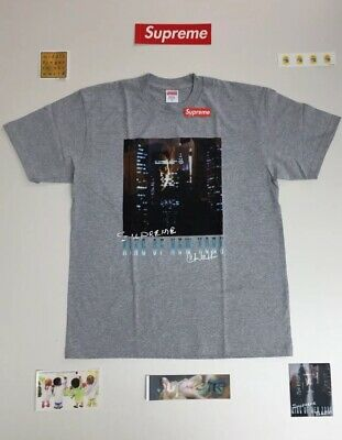 Supreme King of New York Tee Heather Grey
